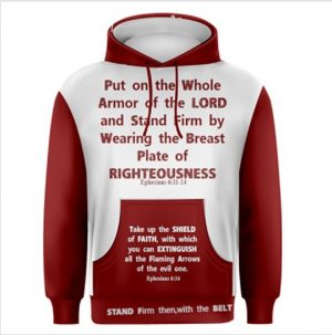 Tammy's Scripture Wear Clothing Line is your source for beautiful, wearable clothes with biblical verses such as Armor of God